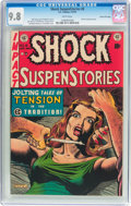 Golden Age (1938-1955):Horror, Shock SuspenStories #8 Gaines File Pedigree 2/12 (EC, 1953) CGCNM/MT 9.8 White pages....