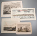 Prints:Contemporary, Group of Approximately Thirty Miscellaneous Views and Panoramas.Circa 1900. Includes nineteenth century engravings and twen...