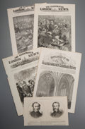 Prints:Contemporary, Group of Approximately 100 Miscellaneous Parliament NewspaperPrints from The Illustrated London News. Circa 188...