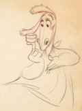 Animation Art:Production Drawing, The Reluctant Dragon Animation Drawing (Disney, 1941). ...