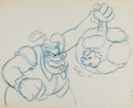 Animation Art:Production Drawing, The Prince and the Pauper Animation Drawings (Walt Disney,1990)....