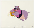Animation Art:Production Cel, All Dogs Go to Heaven Carface Caruthers Production Cel Setup(Don Bluth, 1989)....