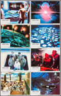 """Movie Posters:Science Fiction, Star Trek: The Motion Picture (Paramount, 1979). Lobby Card Set of8 (11"""" X 14""""). Science Fiction.. ... (Total: 8 Items)"""