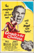 """Movie Posters:Sports, Angels in the Outfield (MGM, 1951). One Sheet (27"""" X 41""""). Sports.. ..."""