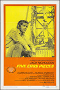 "Movie Posters:Drama, Five Easy Pieces (Columbia, 1970). Autographed One Sheet (27"" X41""). Drama.. ..."