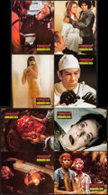 "Movie Posters:Horror, Horror Hospital (Antony Balch Films, 1973). German Lobby Cards (21) (9.25"" X 11.5"") & Promos (2) (8.5"" X 11""). Horror.. ... (Total: 23 Items)"