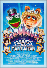 "The Muppets Take Manhattan & Other Lot (Tri-Star, 1984). One Sheets (2) (26.75"" X 39.5"" & 27&q..."