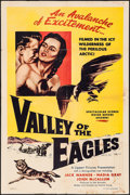 "Movie Posters:Adventure, Valley of the Eagles & Others Lot (Lippert, 1952). One Sheets(2) (27"" X 41""), Photos (6), Restrike Negatives (6), &Restrik... (Total: 20 Items)"