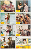 "Movie Posters:Crime, Taxi Driver (Columbia, 1976). Lobby Card Set of 8 (11"" X 14"").Crime.. ... (Total: 8 Items)"