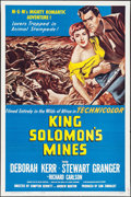 "Movie Posters:Adventure, King Solomon's Mines & Others Lot (MGM, R-1962). One Sheets (3)(27"" X 41""), Half Sheet (22"" X 28"") & Lobby Card Set of 8 (1...(Total: 12 Items)"