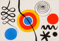 Fine Art - Work on Paper:Print, Alexander Calder (American, 1898-1976). Untitled. Lithographin colors on wove paper. 21 x 29-1/2 inches (53.3 x 74.9 cm...