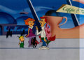 Animation Art:Production Cel, The Jetsons Production Cel Setup (Hanna-Barbera, c.1980s)....