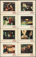 """Movie Posters:Drama, The Spirit of St. Louis (Warner Brothers, 1957). Lobby Card Set of8 (11"""" X 14""""). Drama.. ... (Total: 8 Items)"""