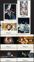 """Movie Posters:Science Fiction, 2001: A Space Odyssey (MGM, 1968). Color Photos (8) (8"""" X 10"""")Cinerama Style. Science Fiction.. ... (Total: 8 Items)"""