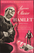 "Movie Posters:Academy Award Winners, Hamlet & Other Lot (Universal International, R-1953). TrimmedOne Sheet (24"" X 39"") & One Sheet (27"" X 41""). Academy AwardW... (Total: 2 Items)"