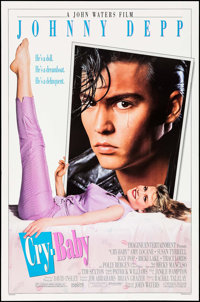 """Cry-Baby & Others Lot (Universal, 1990). One Sheets (2) (27"""" X 41"""") & Personality Poster (20"""" X 2..."""