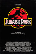 "Movie Posters:Science Fiction, Jurassic Park (Universal, 1993). One Sheet (26.75"" X 39.5"") DS.Science Fiction.. ..."