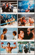 "Movie Posters:Sports, Rocky III (United Artists, 1982). Mini Lobby Card Set of 8 (8"" X 10""). Sports.. ... (Total: 8 Items)"