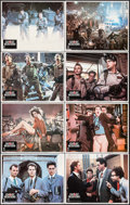 """Movie Posters:Comedy, Ghostbusters (Columbia, 1984). Lobby Card Set of 8 (11"""" X 14""""). Comedy.. ... (Total: 8 Items)"""