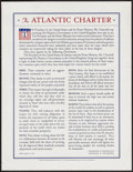 """Movie Posters:War, World War II Propaganda Lot (U.S. Government Printing Office, 1942& 1943). Posters (2) (17"""" X 22"""") """"A Word of Thanks"""" &""""Th... (Total: 2 Items)"""