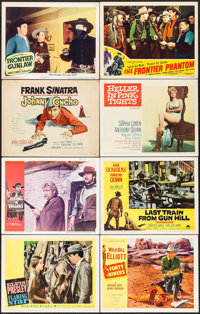 "Flaming Star & Others Lot (20th Century Fox, 1960). Lobby Cards (99) (11"" X 14""). Elvis Presley. ... (..."