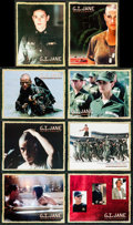 """Movie Posters:Drama, G.I. Jane & Other Lot (Touchstone, 1997). International Lobby Card Set of 8 & Lobby Card Set of 8 (11"""" X 14""""). Drama.. ... (Total: 16 Items)"""