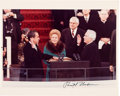 Autographs:U.S. Presidents, Richard Nixon Signed Photograph of his 1973 Inauguration. ...