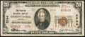 National Bank Notes:Virginia, Charlottesville, VA - $20 1929 Ty. 2 The Peoples NB Ch. # 2594. ...