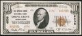 National Bank Notes:Pennsylvania, Spring Grove, PA - $10 1929 Ty. 2 The Spring Grove NB Ch. # 6536....