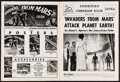 Movie Posters:Science Fiction, Invaders from Mars (20th Century Fox, 1953). Uncut Pressbook (12Pages). Science Fiction.. ...