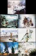 """Movie Posters:Science Fiction, The Empire Strikes Back (20th Century Fox, 1980). Deluxe LobbyCards (7) (11"""" X 14""""). Science Fiction.. ... (Total: 7 Items)"""
