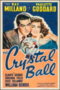 "Movie Posters:Comedy, The Crystal Ball (United Artists, 1943). One Sheet (27"" X 41""). Comedy.. ..."