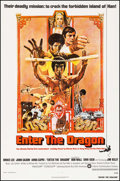 """Movie Posters:Action, Enter the Dragon (Warner Brothers, 1973). Trimmed One Sheet (27"""" X40""""). Action.. ..."""