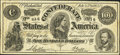 Confederate Notes:1864 Issues, Facsimile T65 $100 Advertising Note Nelson and Lyon Oneonta, NY. ...