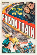 "Movie Posters:Crime, Prison Train (Equity, 1938). One Sheet (27"" X 41""). Crime.. ..."