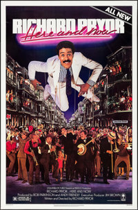 "Richard Pryor...Here and Now (Columbia, 1983). One Sheets (50) Identical (27"" X 41""). Comedy. ... (Total: 50 I..."