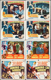 Armored Car Robbery & Others Lot (RKO, 1950). Title Lobby Cards (2) Identical & Lobby Cards (36) (11&quo...