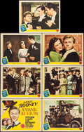 """Movie Posters:Comedy, A Yank at Eton (MGM, 1942). Title Lobby Card & Lobby Cards (5) (11"""" X 14""""). Comedy.. ... (Total: 7 Items)"""