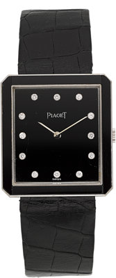Piaget Lady's Diamond, White Gold Watch