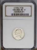 Jefferson Nickels: , 1994-P 5C MS69 NGC. NGC Census: (132/14). (#4132)...
