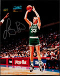 Basketball Collectibles:Photos, Larry Bird Signed Photograph. ...