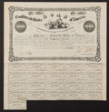 Confederate Notes:Group Lots, Ball 95 Cr. 93 $1000 Bond 1861 Fine.. ...
