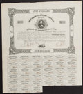 Confederate Notes:Group Lots, Ball 134 Cr. 75 $500 1861 Bond Fine.. ...