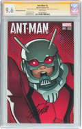 Modern Age (1980-Present):Superhero, Ant-Man #1 Shrinking Variant Cover - Signature Series (Marvel,2015) CGC NM+ 9.6 White pages....
