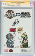 Modern Age (1980-Present):Superhero, Age of Ultron vs. Marvel Zombies #1 Young Variant Cover - SignatureSeries (Marvel, 2015) CGC NM/MT 9.8 White pages....