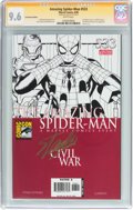 Modern Age (1980-Present):Superhero, The Amazing Spider-Man #533 Convention Edition - Signature Series(Marvel, 2006) CGC NM+ 9.6 White pages....