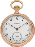 Timepieces:Pocket (post 1900), Tiffany & Co. Very Fine Gold Minute Repeater By C.H. MeylanBrassus. ...