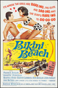 "Movie Posters:Comedy, Bikini Beach (American International, 1964). One Sheet (27"" X 41"").Comedy.. ..."