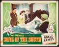 """Movie Posters:Animation, Song of the South & Other Lot (RKO, 1946). Lobby Card (11"""" X14"""") & One Sheet (27"""" X 41). Animation.. ... (Total: 2 Items)"""