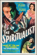 """Movie Posters:Fantasy, The Spiritualist (Eagle Lion, 1948). One Sheet (27"""" X 41"""") &Lobby Card Set of 8 (11"""" X 14""""). Fantasy.. ... (Total: 9 Items)"""